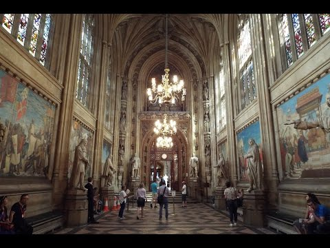 Inside The Houses of Parliament!