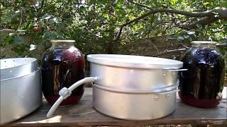 вишнёвый сок из соковарки/ на-кухне