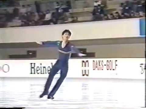 Makoto Kano JPN - 1985 NHK Trophy LP