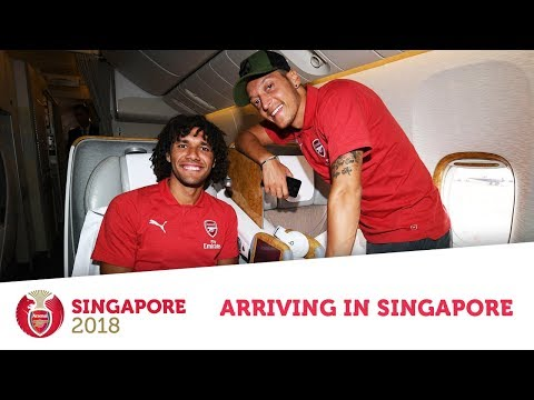 Arsenal fly to Singapore | Behind the scenes Emirates exclusive | #AFCTour2018