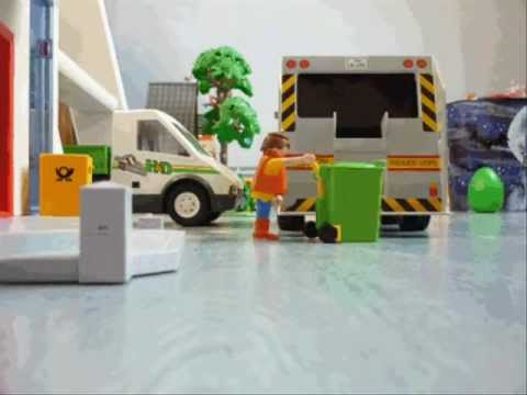Gif playmobil camion poubelle youtube - Playmobil camion ...