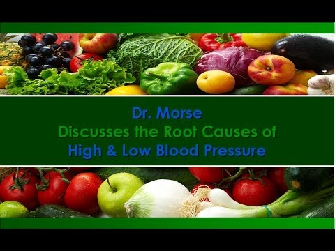 Dr. Robert Morse ND Discusses High & Low Blood Pressure