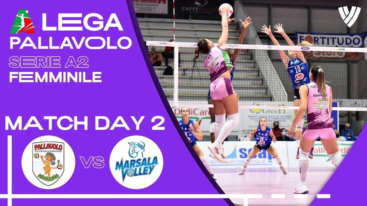 Aragona vs. Marsala Volley - Full Match | Women's Serie A2 | 2021