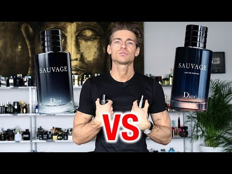 Dior Sauvage EDP vs EDT
