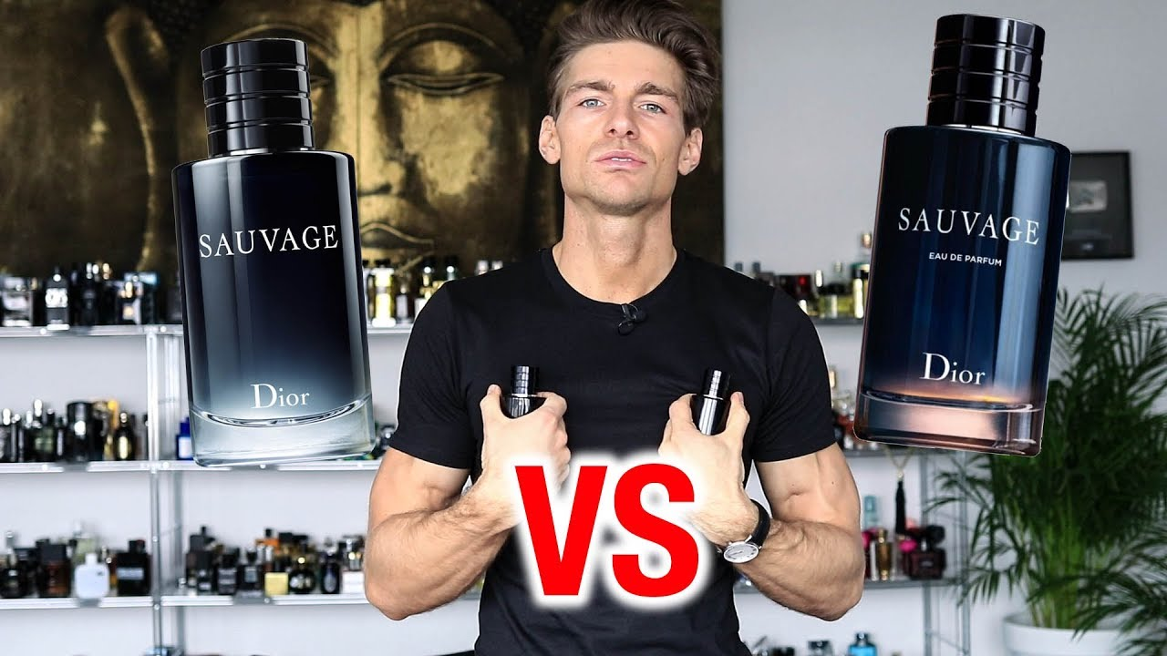 Dior Sauvage Edp Vs Edt Youtube