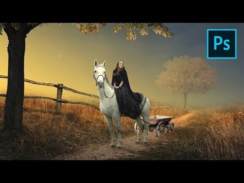 Horse Carriage - Photoshop Manipulation Tutorial