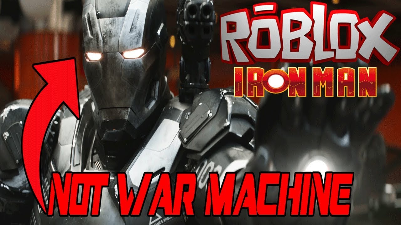Iron Man Simulator Roblox How To Get War Machine It S Not War Machine Roblox Iron Man Simulator Youtube