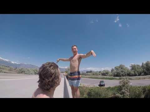 Bridge JUMPING - Lehi, Utah