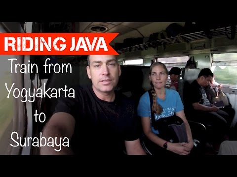 Train from Jogja to Surabaya | Traveling with Mark #9