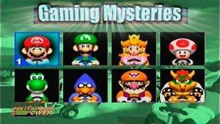 Gaming Mysteries: Super Mario Kart R Beta (N64)