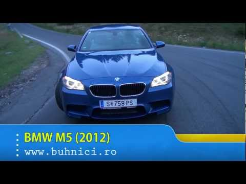 REVIEW BMW M5 2012 www.buhnici.ro