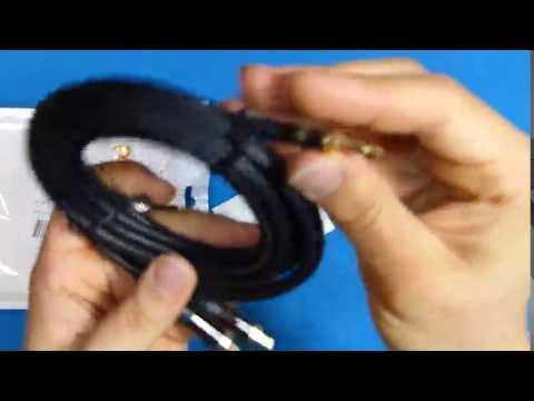 Primewire 3m HQ 3,5 mm Jack a RCA Audio Cable - YouTube