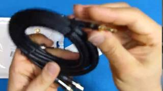 Primewire   3m HQ 3,5 mm Jack a RCA Audio Cable