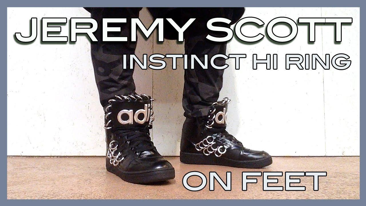new style brand new really comfortable on feet Jeremy Scott x adidas Instinct Hi Ring ss15 - YouTube