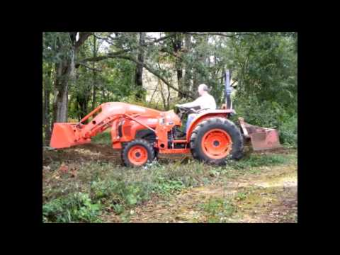 tractor stuck in mud how to get out