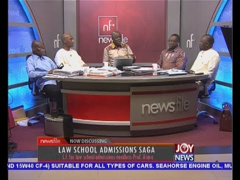 Law School Admissions Saga - Newsfile on JoyNews (17-2-18)