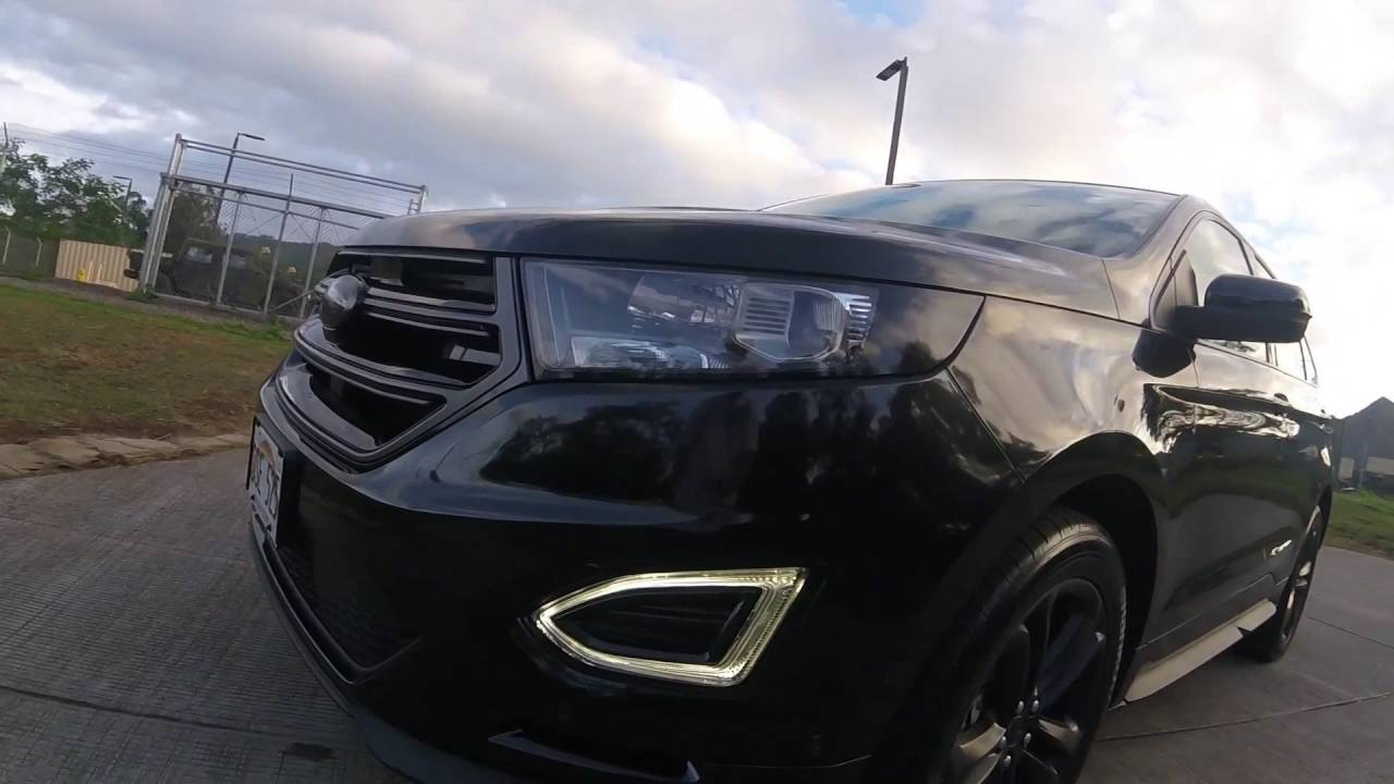 Copy Of 2015 Ford Edge Sport Custom Interior Youtube