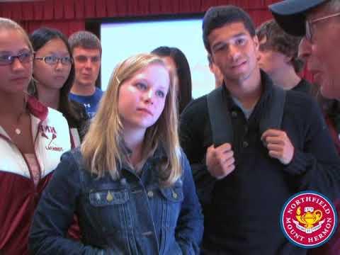 October 2010 - Northfield Mount Hermon School Colloquium