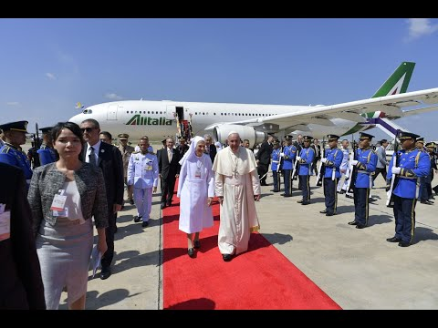 البابا فرنسيس يصل إلى تايلاند المحطة الأولى من جولته الآسيوية  - نشر قبل 1 ساعة