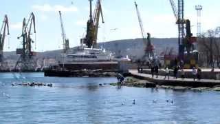 Феодосия Крым 25 03 2015 солнце(, 2015-03-25T13:30:03.000Z)