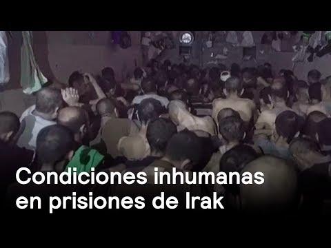 Reos en prisiones de Irak viven en condiciones inhumanas - Despierta con Loret