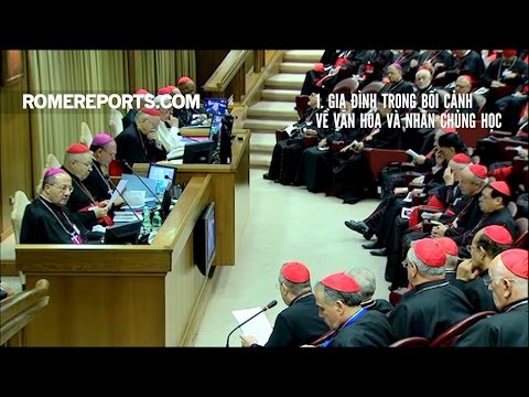 Những chủ đề trong Tuần Đầu tiên của Thượng Hội đồng Giám mục