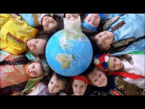 """КРАСИВАЯ ДЕТСКАЯ ПЕСНЯ""""Мир на планете""""-ВИДЕОРОЛИК"""