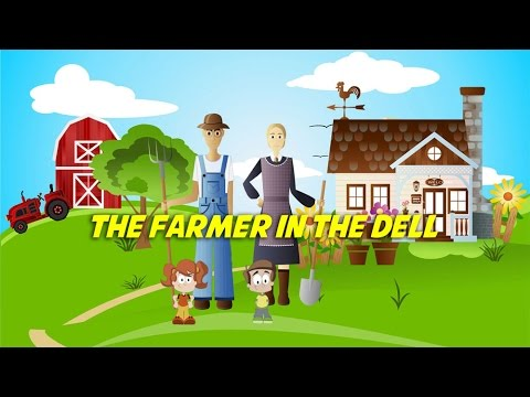 The Farmer in the Dell | Free Nursery Rhyme Karaoke with Lyrics