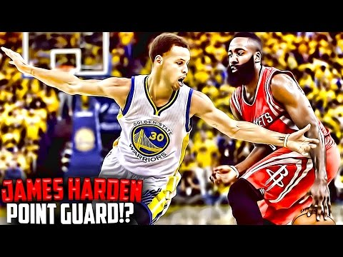 Why JAMES HARDEN Is The POINT GUARD of the Houston Rockets! James Harden 2017 MVP!?
