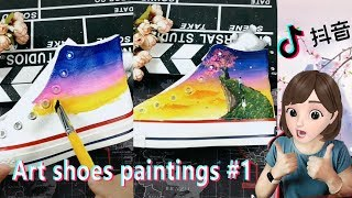 Beautiful & Awesome Art shoes …