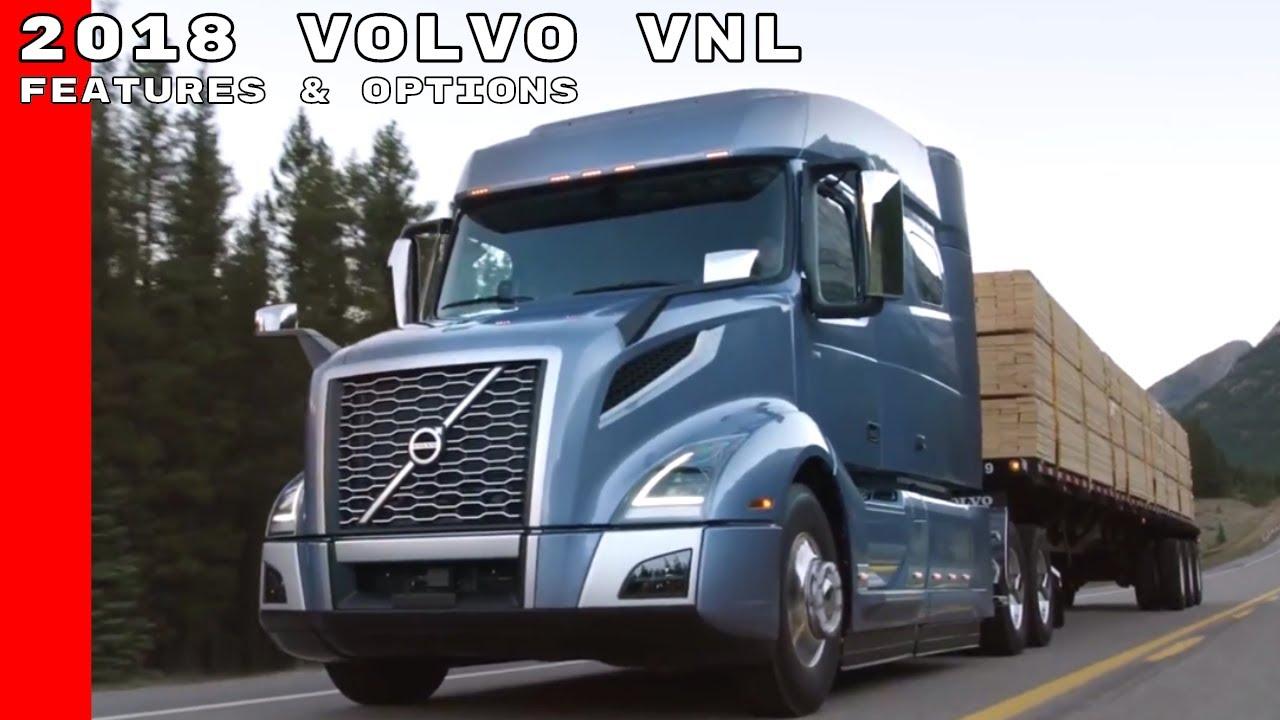 2018 volvo vnl truck features  u0026 options