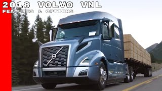 2018 Volvo VNL Truck Features & Options