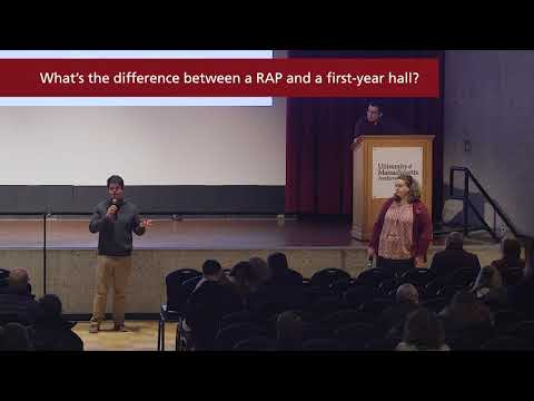 RAP vs First Year Hall at UMass Amherst — Student Success Presentation