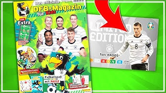 EURO 2020 LIMITED EDITION 😱🔥 DFB PAULE FAN MAGAZIN