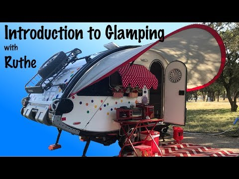 Introduction to Glamping in a T@B Teardrop with Ruthe and Princess Craft RV