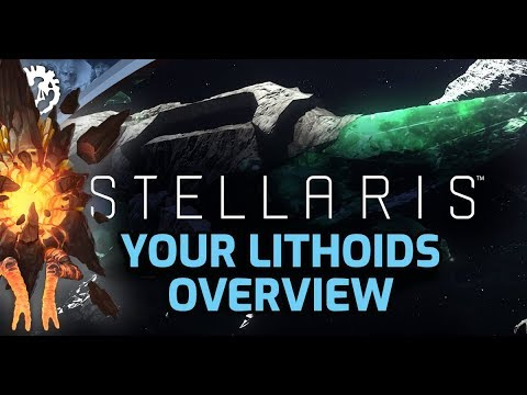 Stellaris Lithoids Species Pack Overview – What You Get And How It Looks :-)