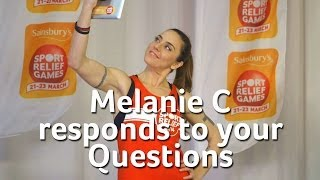 Melanie C responded live to your questions via social media. Find o...