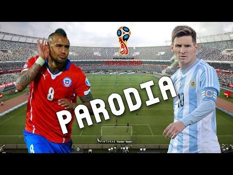 Cancion Argentina vs Chile 1-0 (Parodia Subeme La Radio - Enrique Iglesias)