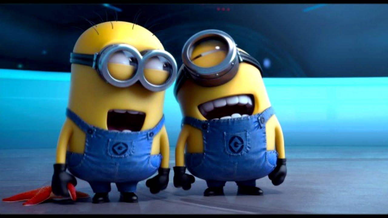 Minions laugh - YouTube