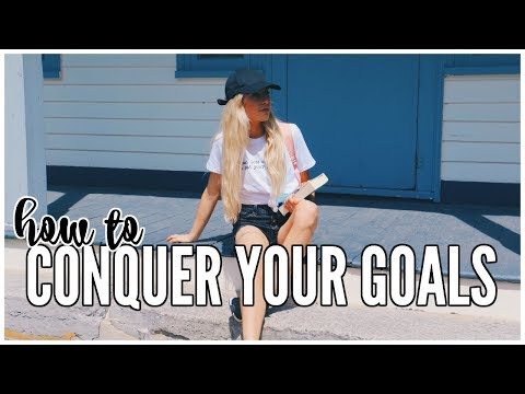 How To Stick To Goals & Schedules