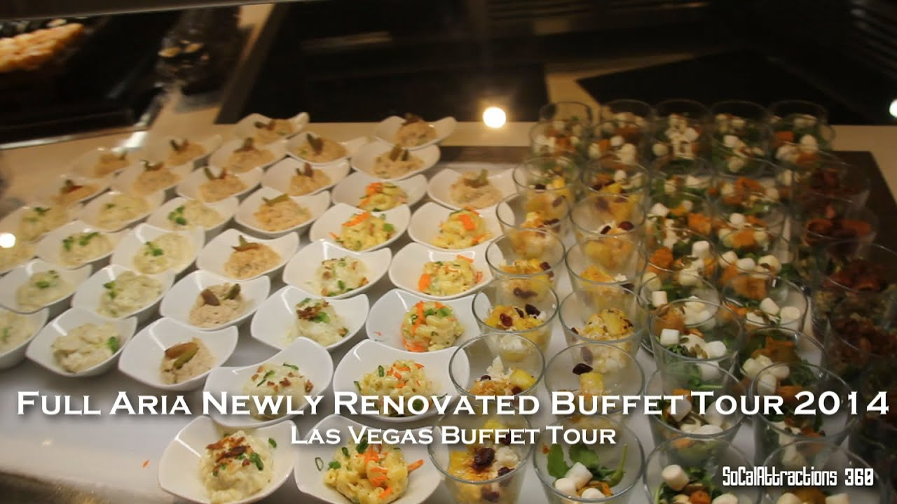 hd aria newly renovated buffet full buffet tour at aria las rh youtube com aria lunch buffet reviews aria lunch buffet menu