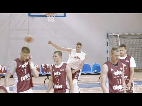Off-season work / Kristaps Porzingis / #008 - Latvia national basketball team