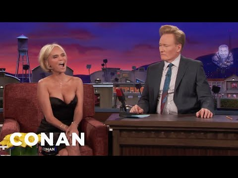 Kristin Chenoweth Harmonizes With A Fire Alarm  - CONAN on TBS
