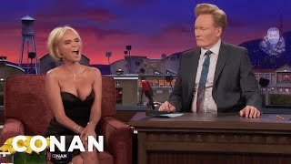 Kristin Chenoweth Harmonizes With A Fire Alarm  - CONAN on TBS