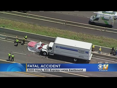 1 Killed In Crash On I-820 Express Lanes In Fort Worth - YouTube