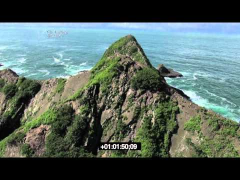 Costa Rica beaches, surf, islands, and river AERIAL VIDEO