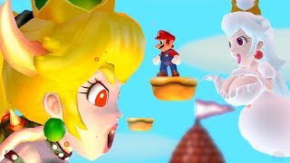 Download Video New Super Mario Bros. Wii - Mario Vs Bowsette & Boosette Final Boss MP3 3GP MP4
