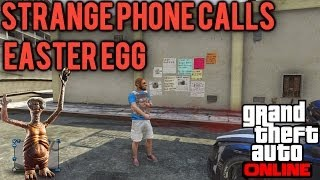 *NEW* GTA 5 Online- Secret Phone Numbers Easter Egg! (Possible Alien Contact?)