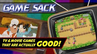 TV & Movie Games that are Actually GOOD! - Game Sack