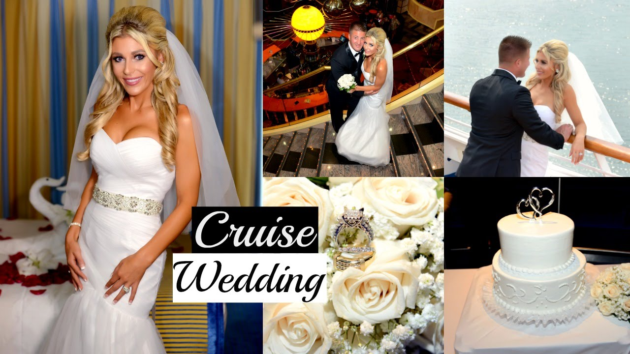 Getting Married on a Cruise  Carnival Cruise Wedding  YouTube